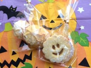 かぼちゃ入りクッキープレゼント