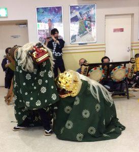 平成29年獅子舞演舞